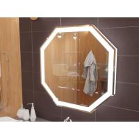 Зеркало с подсветкой для ванной комнаты Тревизо 65 см