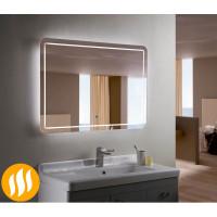 Зеркало с подсветкой и подогревом для ванной комнаты Анкона